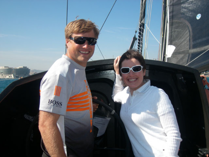 HUGO BOSS BARCELONA - ALEX THOMSON RACING